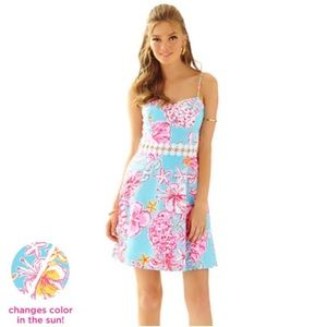 LILLY PULITZER Lenore Dress Lolita Floral Print 2